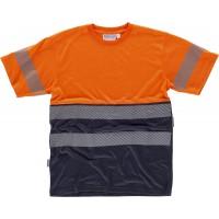 Camiseta M/C Alta Visibilidad C6040
